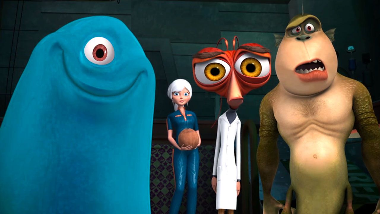 Monsters vs. Aliens: 