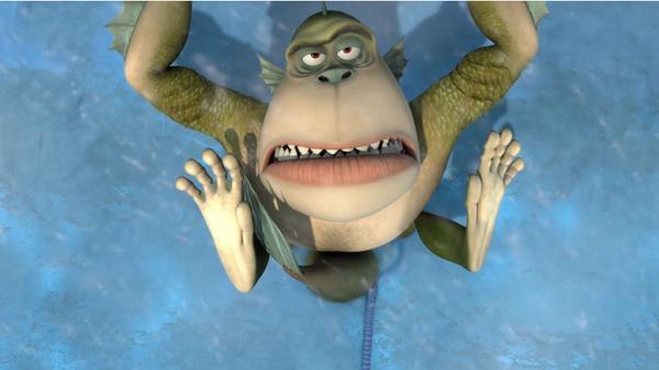 "Monsters vs. Aliens: Vornicarn: ""Sticky Ice"""