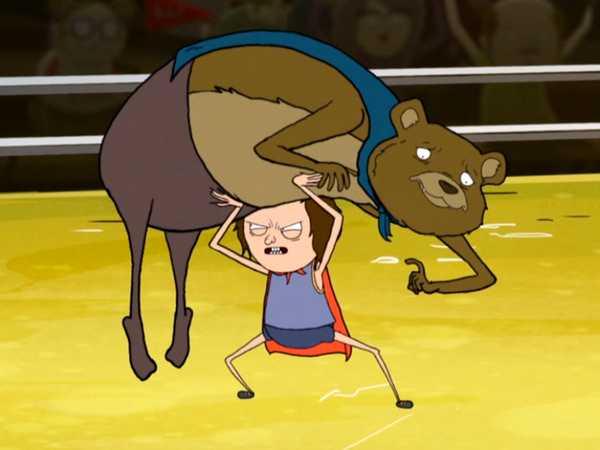 Bear Wrestler
