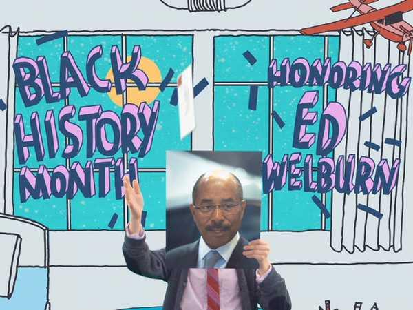 """Black History Month: Ed Welburn"""