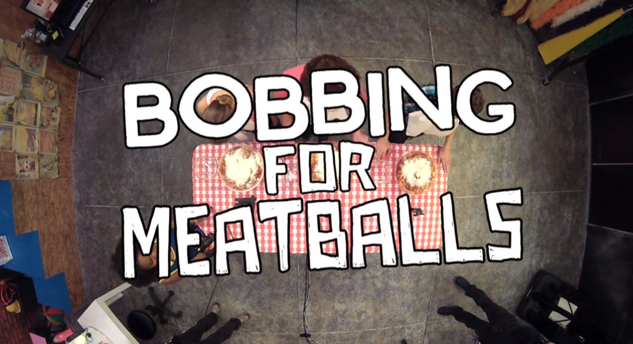 Nick Studio 10: Bobbing for Meatballs Video Clip | Nick Videos