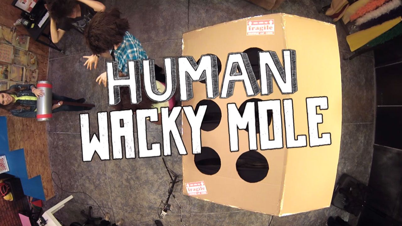 Nick Studio 10: Human Wacky Mole Video Clip | Nick Videos