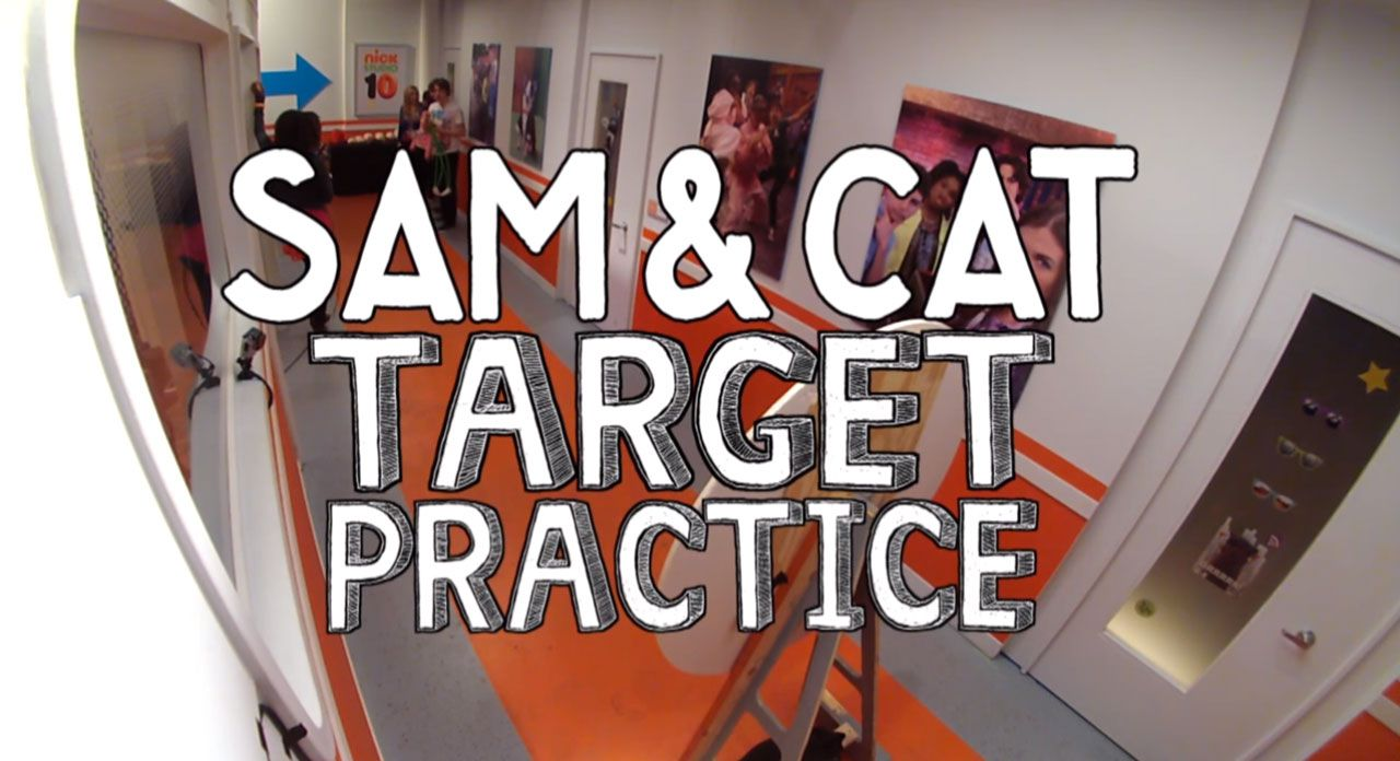 Nick Studio 10: Sam & Cat Target Practice Video Clip | Nick Videos