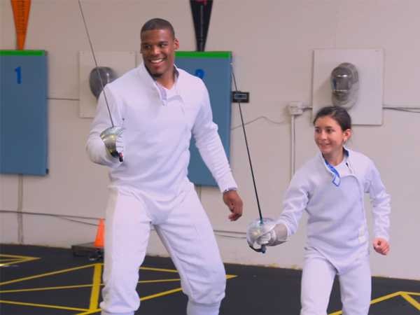 """All In With Cam Newton: """"All In with Isabella and Xander"""""""