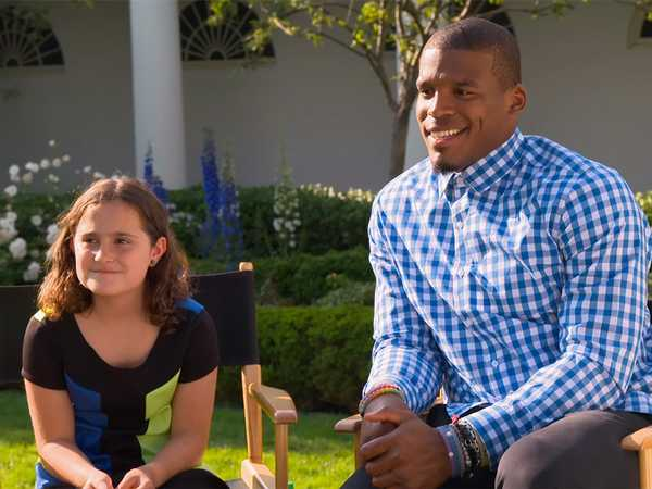 """All In With Cam Newton: """"All In with Rosie"""""""