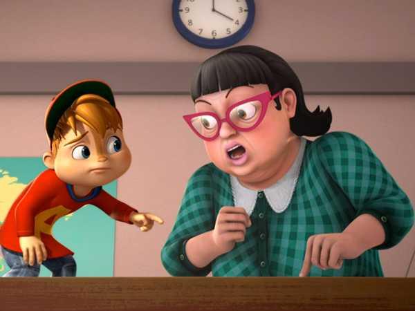 "ALVINNN!!! and The Chipmunks: ""A is for Alien/Jeanette Enchanted"""