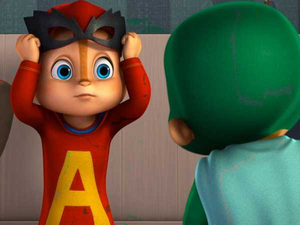 "ALVINNN!!! and The Chipmunks: ""She's Got Style/Super Heroes"""