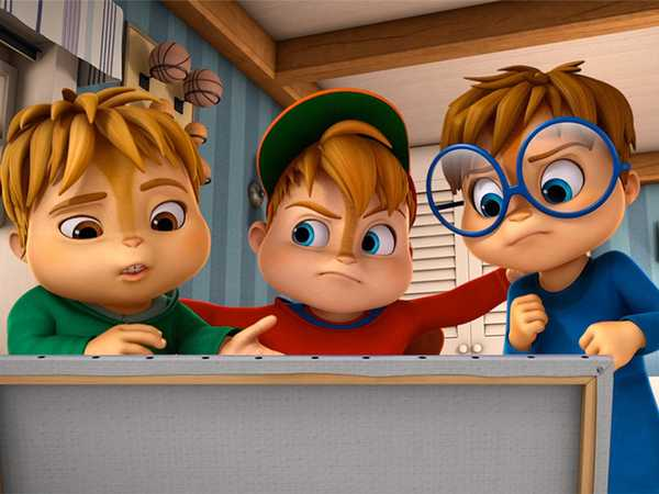 "ALVINNN!!! and The Chipmunks: ""Art For Art's Sake/Mancave"""
