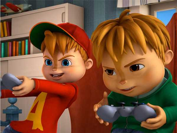 "ALVINNN!!! and The Chipmunks: ""Dog Days/Dragon Dad"""