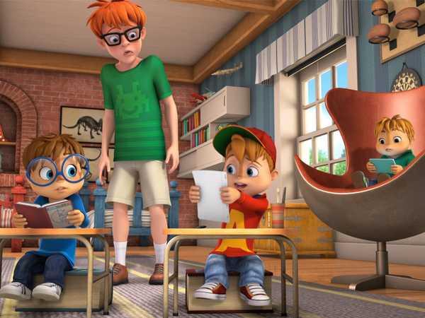 """ALVINNN!!! and The Chipmunks: """"Secret Admirer """""""