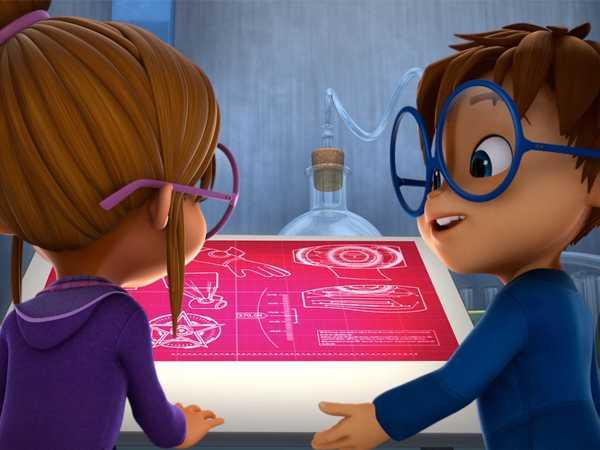 """ALVINNN!!! and The Chipmunks: """"Super Girls """""""