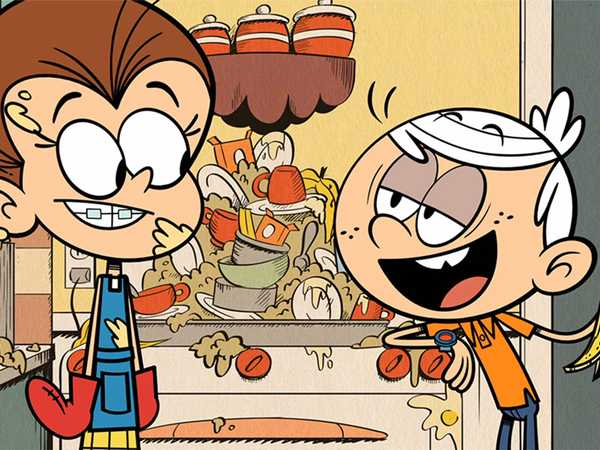"""The Loud House: """"The Butterfly Effect/The Green House"""""""