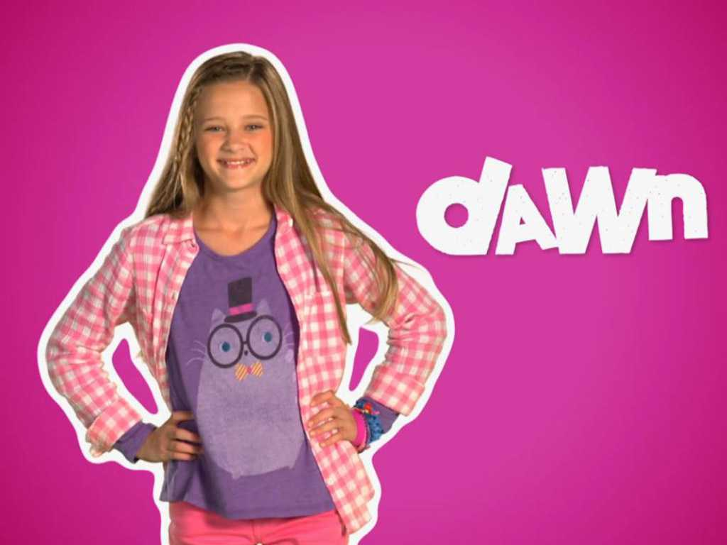 What is dawns real name for nicky ricky dicky and dawn caroldoey