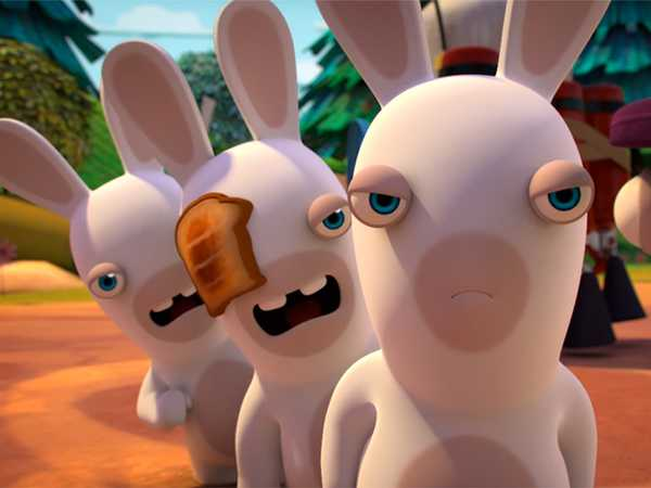 "Rabbids Invasion: ""Feathered Rabbid/Queen of Rabbid/Rabbid Amnesia"""