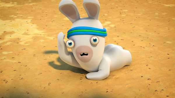 """Rabbids Invasion: """"Rabbid of the Third Kind/The Pact of the Super Rabbids/On the Rabbid Trail"""""""