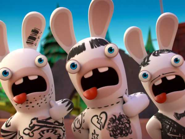 "Rabbids Invasion: ""Rabbidbowl – Part 1/Rabbidbowl – Part 2/An Alien Amongst the Rabbids"""