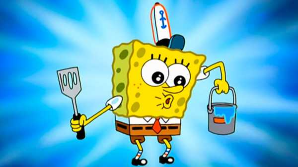 "SpongeBob SquarePants: ""Wet Painters/Krusty Krab Training Video"""