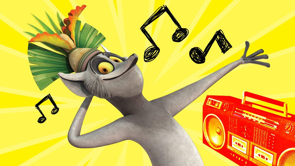 The Penguins of Madagascar: Dance Like a King! Video Clip | Nick Videos