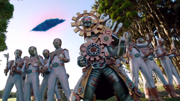 "Power Ranges Super Megaforce: In the Driver's Seat: ""One-Way to Corinth"""