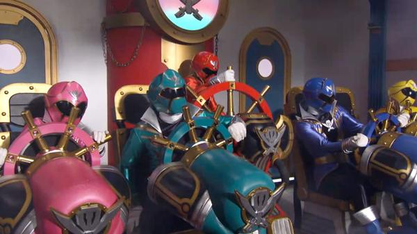 "Power Rangers Super Megaforce: ""The Wrath"""