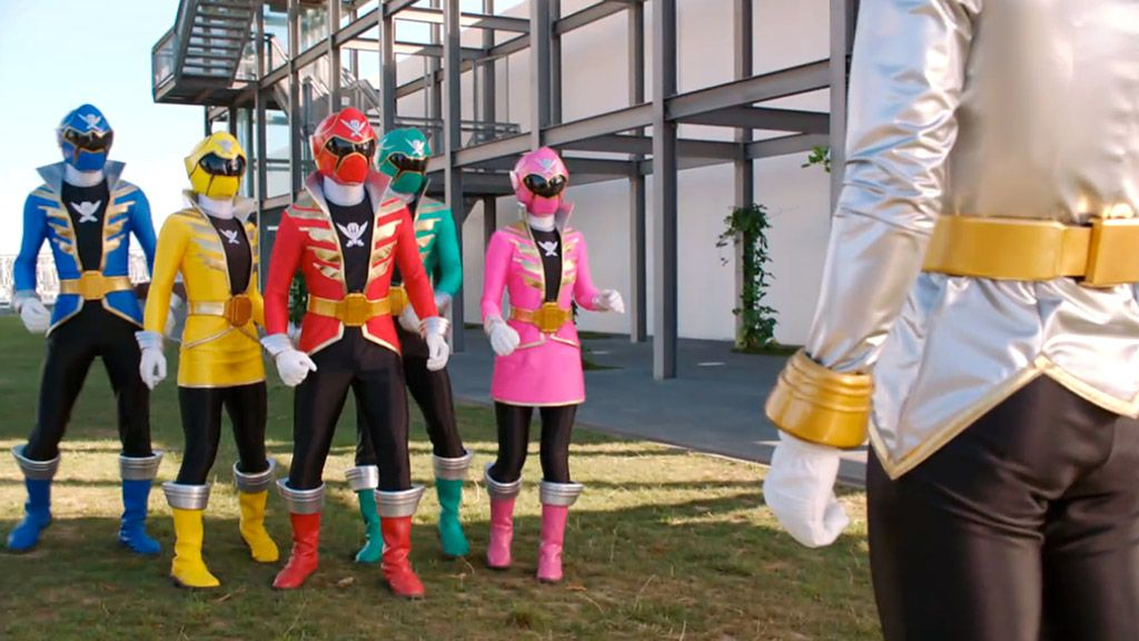 wer rangers super megaforce monsters - Power Rangers