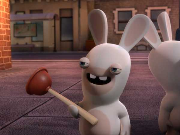 "Rabbids Invasion: ""Plunger Power Play"""