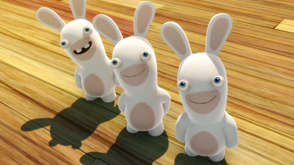 "Rabbids Invasion: ""Rabbids Say Cheese/Baywatch Rabbids/Rabbid Market"""