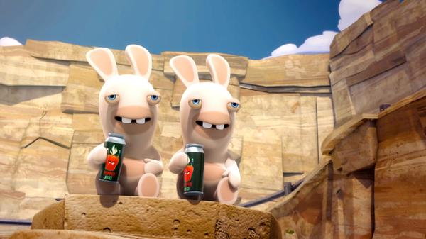 """Rabbids Invasion: """"O'Come All Ye Rabbids/Slippery and Soapy/Rabbid Stick-Up"""""""