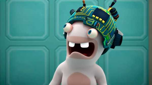 "Rabbids Invasion: ""Being Rabbids/Rabbid Diet/Reflections in a Rabbid Eye"""