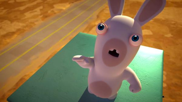 "Rabbids Invasion: Green Rabbid/Star Rabbids/Rabbid Obsession: ""To the Moon"""