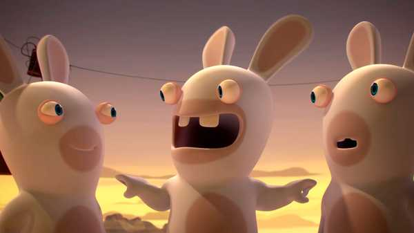 "Rabbids Invasion: ""Guide-Rabbid/The Mystery of the Disappearing Rabbids/Rabbids BFFs"""