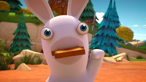 "Rabbids Invasion: ""Rabbid Home/Rabbid Toast/Voiceless Rabbid"""