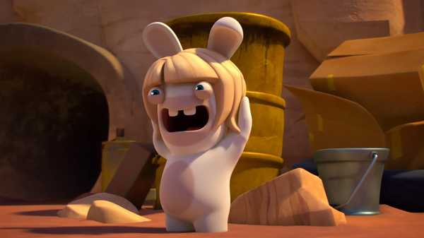 "Rabbids Invasion: ""Rabbid Invaders/Mother Rabbid/Rabbid Babysitting"""