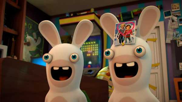 "Rabbids Invasion: ""Sulky Rabbid/Love-Struck Rabbid/Moonless Rabbids"""