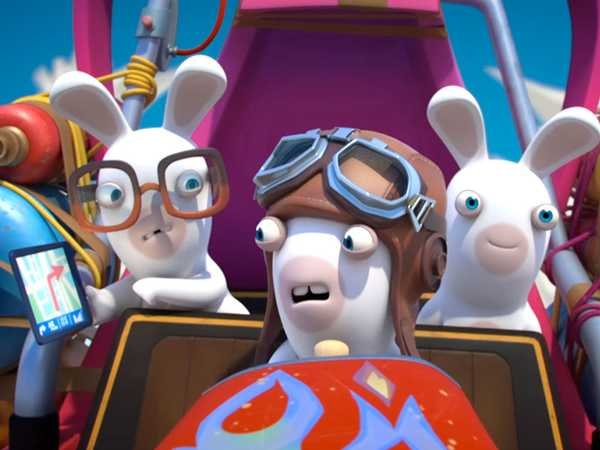 "Rabbids Invasion: ""Rabbid Fetch/Rabbid Escape/Rabbid Werewolf"""