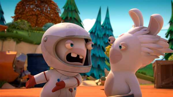 "Rabbids Invasion: ""Rabbidstein/Anti-Grabbidy/Rabbid Dummy"""