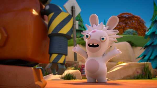 "Rabbids Invasion: ""Lost Rabbids/The Curse of Rabbidkhamun/Mad Rabbids vs. The Robots"""