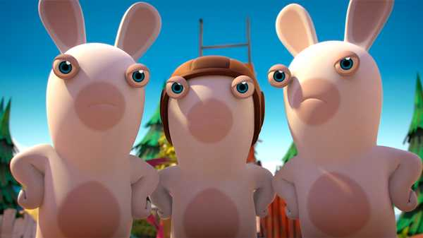 "Rabbids Invasion: ""Rabbid 00Zilch/Mad Rabbid & the Rabbid Clones/Mad Fly Rabbid"