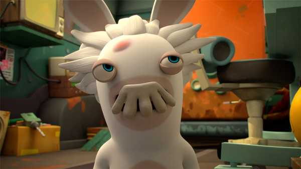 "Rabbids Invasion: ""Dr. Mad Rabbid's Super-Duper Iron-Clad Underpants/Monstrous Rabbids/Mad Rabbid & the Genius's Mousta"""