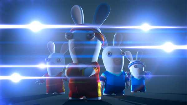 "Rabbids Invasion: ""Checkpoint Rabbid/Lost Ball Rabbids/Rabbidus Carnivorous"""