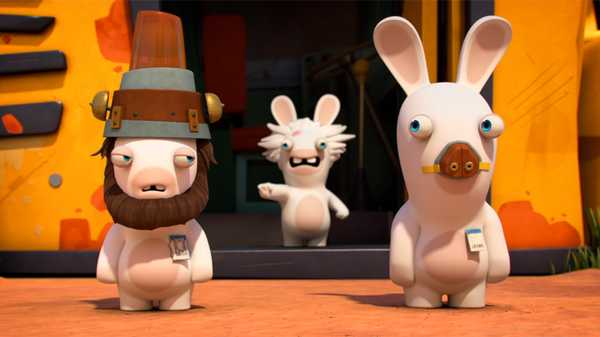 "Rabbids Invasion: ""Rabbid Knights/Rabbid Assistants/Rabbid Soundtrack"""
