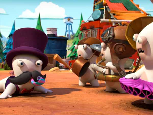 "Rabbids Invasion: ""Rabbid Tribe/Rabbid Mate/Gorilla Rabbid"""