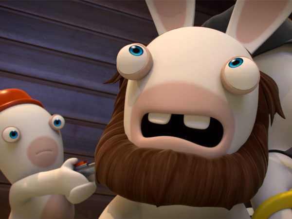 "Rabbids Invasion: ""Radioactive Rabbid/Handcuffs Rabbids/Rabbidzzzzzz"""