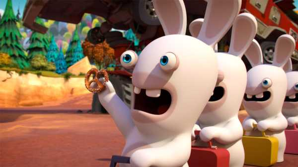 "Rabbids Invasion: ""Helpful Rabbid/Time Travel Rabbids/Excalirabbid"""