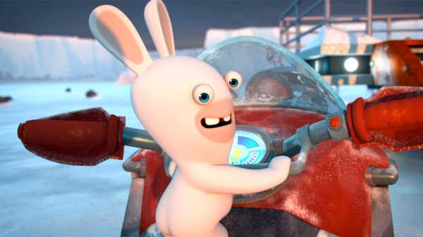 "Rabbids Invasion: ""Rabbid Santa/Snow Rabbid/Egg-ceptional Rabbid"""