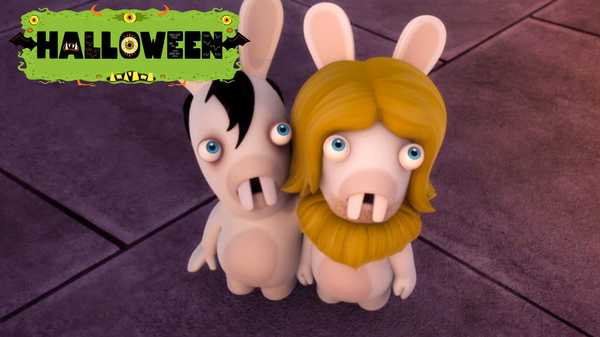 "Rabbids Invasion: ""Vampire Rabbid/Rabbid Halloween/Zombie Rabbid"""