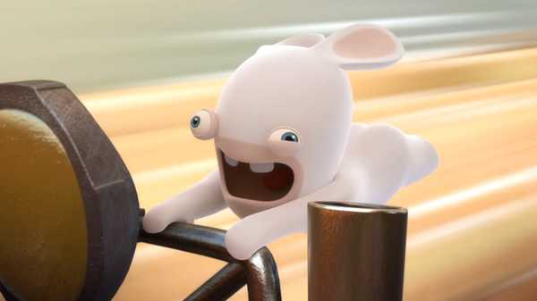 "Rabbids Invasion: ""Stop! No More!/ Rabbids vs. the Vacuum Cleaner/Runway Rabbids"""