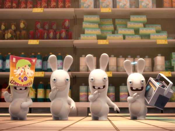 "Rabbids Invasion: ""Rabbid Playa/Radio Rabbid/Escalator Rabbid"""