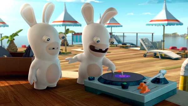 "Rabbids Invasion: ""Music Rabbid/Wake Up, Rabbids!/Get in Line, Rabbids!"""