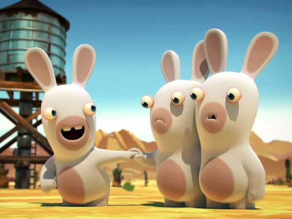 Rabbids Invasion: Rabbid Farts
